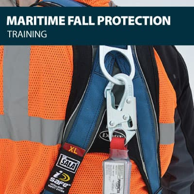 maritime fall protection training certification