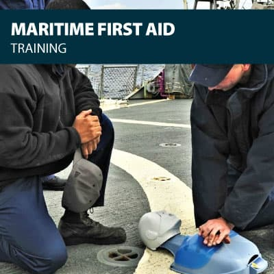 maritime first aid training certification