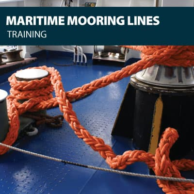 maritime mooring lines training certification