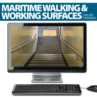 Walking and working surfaces online training