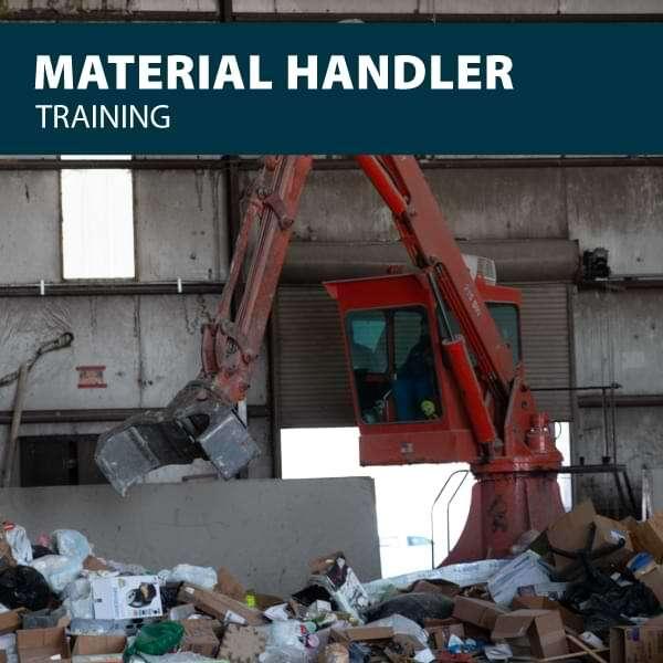 canada scrap and material handler training certification