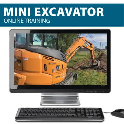 Mini Excavator Online Training