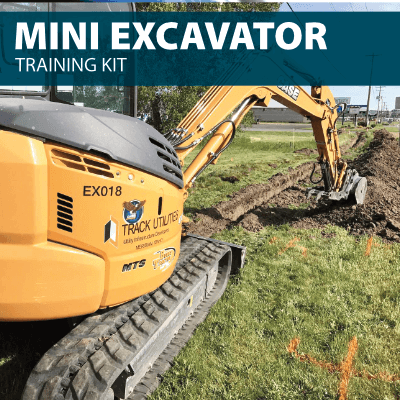 mini excavator training kit