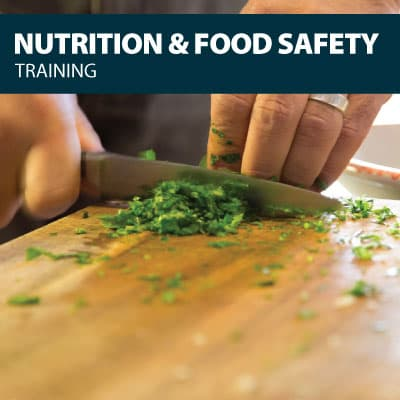nutrition & food safety training certification