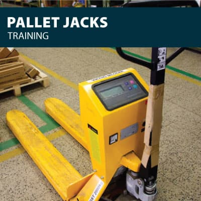 canada pallet jack training certification