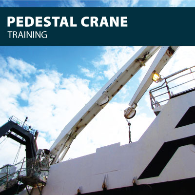 Pedestal Crane training certification