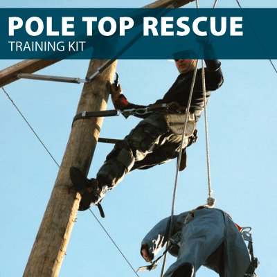 pole top rescue training kit