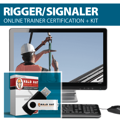 Rigger & Signal Person Trainer Certification Program