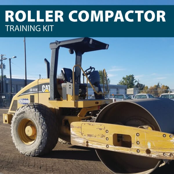Roller Compactor Training Kit for Canada from Hard Hat Training