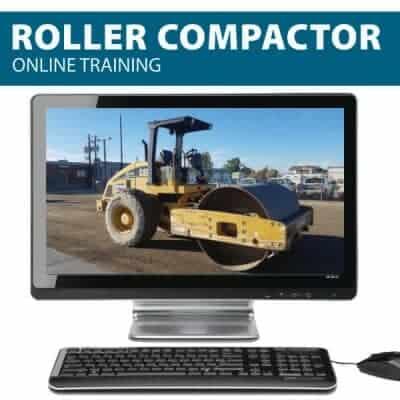 Roller compactor online training