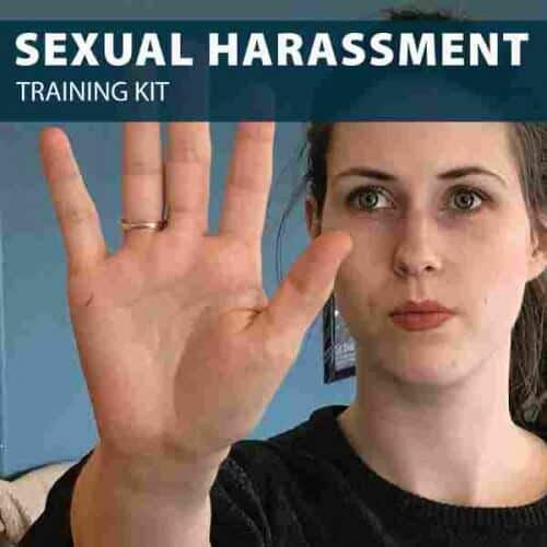 sexual harassment training kit