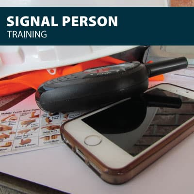 canada signal person training certification