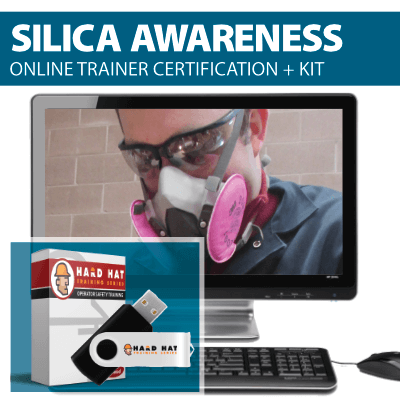 Silica Awareness Trainer Certification Program