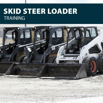 skid steer loader training certification