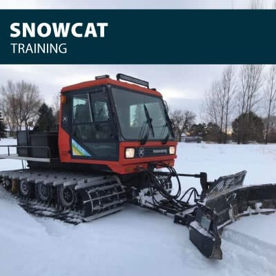 Snow Cat Safety Training Options