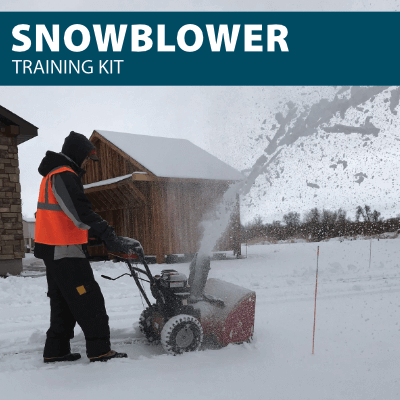 Snowblower Training Kit for Canada Compliance