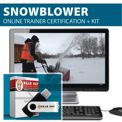 Snowblower Trainer Certification Program