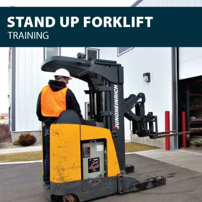 canada stand up forklift training certification