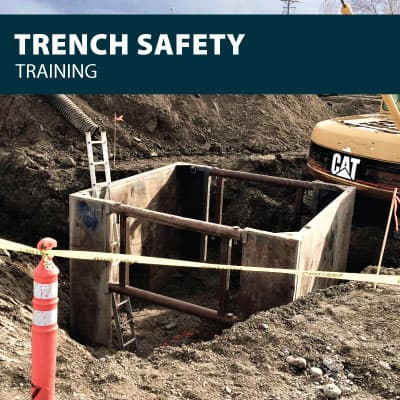 trench safety training certification