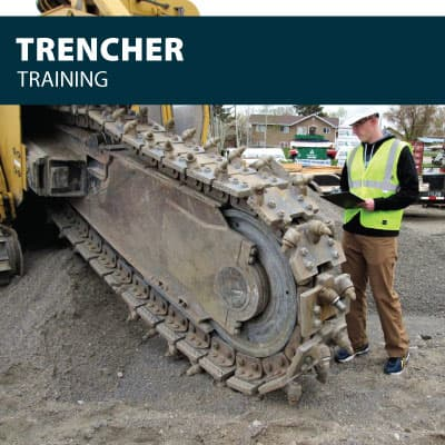 trencher safety training certification