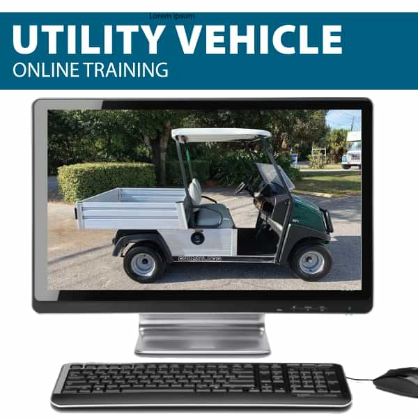 Utility Vehicle Online Training Canada Compliant