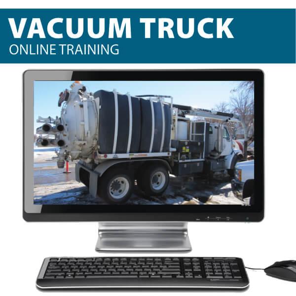 vacuum truck online training
