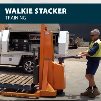 canada walkie stacker safety training certification