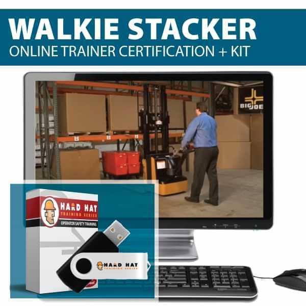 Walkie Stacker Train the Trainer certification
