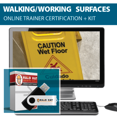 Walking and Working Surfaces Trainer Certification Program