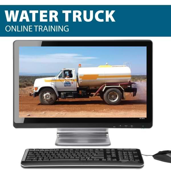 water truck online Canada compliant training